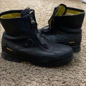 Polo boots black